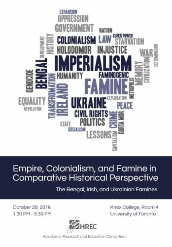 Main image Empire, Colonialism, and Famine in Comparative Historical Perspective: The Bengal, Irish, and Ukrainian Famines