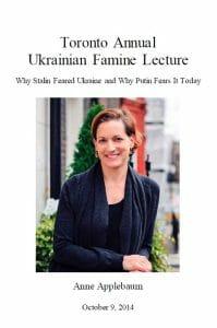 2014 Toronto Annual Ukrainian Famine Lecture