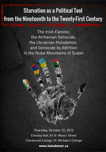 Main image Starvation As A Political Tool From The Nineteenth To The Twenty-First Century: The Irish Famine, The Armenian Genocide, The Ukrainian Holodomor And Genocide By Attrition In The Nuba Mountains Of Sudan